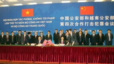 Konferenz über Zusammenarbeit beim Kampf gegen Kriminalität zwischen Vietnam und China - ảnh 1
