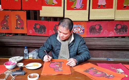 Wiederbelebung der folkloristischen Bilder Kim Hoang - ảnh 1