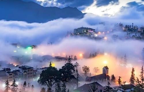2021年初吸引游客的越南旅游胜地 - ảnh 1