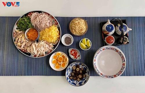 什锦丝汤米线——河内的美食 - ảnh 1