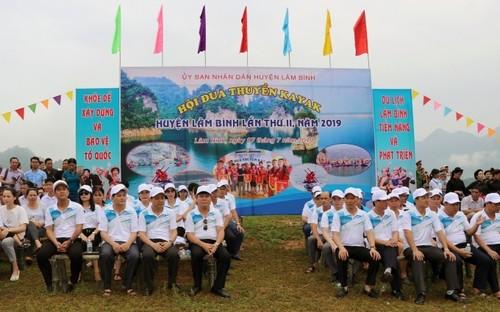 Kayaking in Vietnam and kayak racing in Tuyen Quang province   - ảnh 1