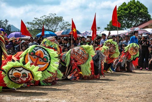 Lion-cat dance – an intangible cultural heritage of Lang Son - ảnh 1