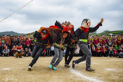 Lion-cat dance – an intangible cultural heritage of Lang Son - ảnh 2
