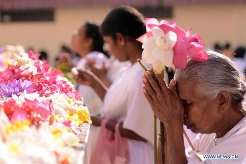 Poya Day, a full moon-based religious holiday in Sri Lanka - ảnh 1