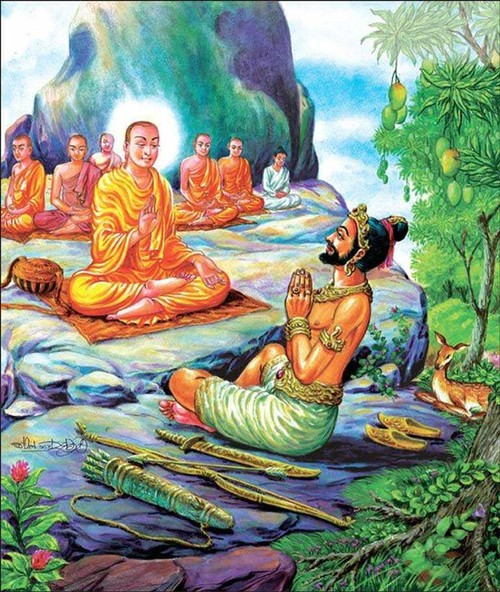 Poya Day, a full moon-based religious holiday in Sri Lanka - ảnh 2