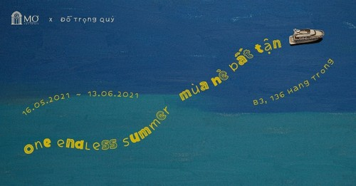 """A trip through childhood in Do Trong Quy's """"One endless summer"""" exhibition - ảnh 1"""