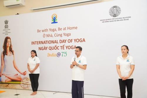 "International Yoga Day 2021 – ""Yoga for Wellness"" - ảnh 1"