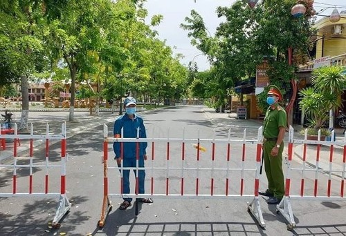 Hoi An city begins 14-day social distancing measures  - ảnh 1