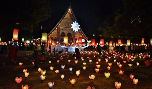 Laos's Boun Ork Phansa Festival    - ảnh 2