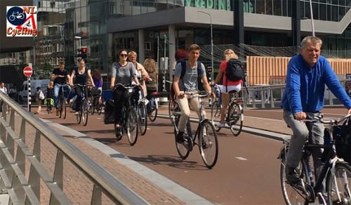 How cycling becomes a symbol of Dutch culture - ảnh 1