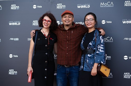 Vietnamese painter holds first solo exhibition in Italy - ảnh 2