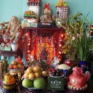 Le culte du génie du Foyer - une fête traditionnelle en décembre des Vietnamiens - ảnh 2