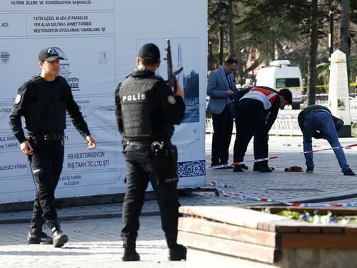 Istanbul : au moins dix morts dans une explosion, soupçon d'attentat - ảnh 1