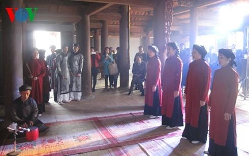 Provinsi Phu Tho mengkonservasikan dan mengembangkan nilai-nilai budaya nonbendawi - ảnh 1