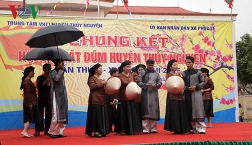 Kota Hai Phong menjaga dan mengembangkan pusaka menyanyikan Dum - ảnh 1