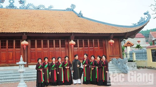 Agar supaya lagu rakyat Quan Ho terus memancarkan sinar - ảnh 1