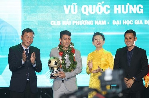 Pemain Vu Quoc Hung-Bola emas Futsal Viet Nam - ảnh 1