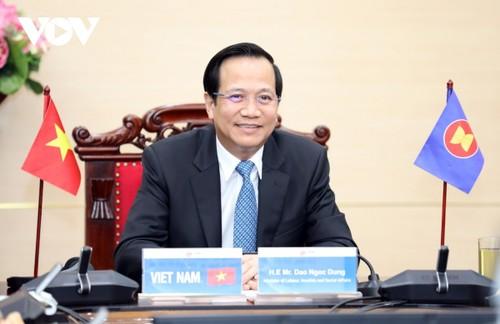 Konferensi ke-11 Menteri Tenaga Kerja ASEAN plus 3 - ảnh 1