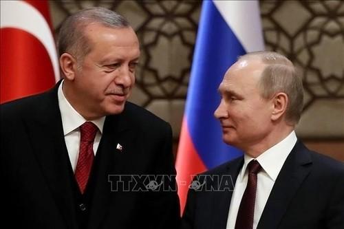 Rusia y Turquía acuerdan desplegar medidas para estabilizar la situación en Siria - ảnh 1