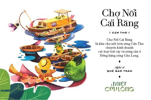 """""""Miet Cuu Long"""": un proyecto cultural y artístico que exalta el oeste de Vietnam - ảnh 1"""