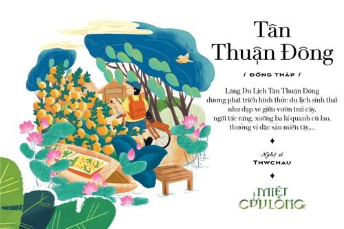 """""""Miet Cuu Long"""": un proyecto cultural y artístico que exalta el oeste de Vietnam - ảnh 2"""