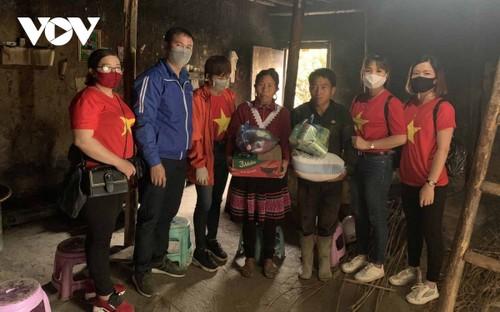 Loc Van Huy, un líder entusiasta de los movimientos juveniles de la comunidad étnica de La Chi - ảnh 2