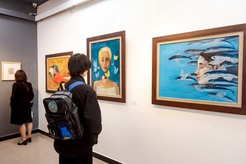 """Exposición """"Hipocampo"""" de jóvenes artistas vietnamitas - ảnh 2"""