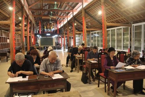 Escuela Nhan My, un lugar de preservación de valores tradicionales de Vietnam - ảnh 1