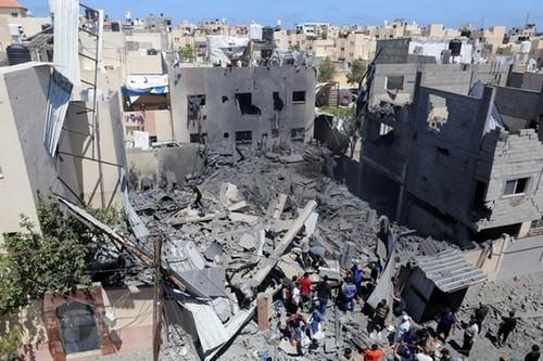 Emiratos Árabes Unidos listos para apoyar los esfuerzos de paz entre Israel y Palestina - ảnh 1