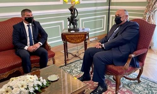 Egipto e Israel acuerdan trabajar en un Itinerario de paz en Medio Oriente - ảnh 1
