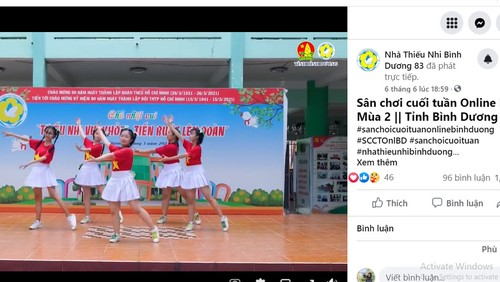 Un verano especial para los niños en Binh Duong - ảnh 1