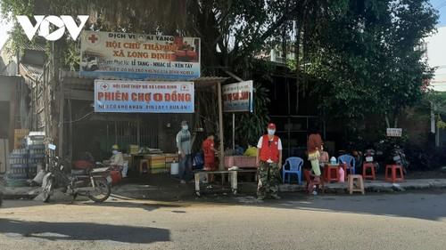 Un mercado único para los más necesitados en la provincia de Tien Giang - ảnh 1