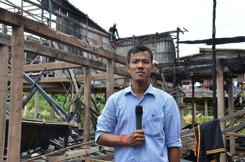 Danh Chanh Da, periodista jemer enaltecido con la Orden de Cooperación y Amistad de Camboya - ảnh 1