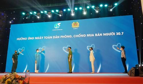 Teleconferencia sobre la lucha y la prevención contra el tráfico humano - ảnh 1