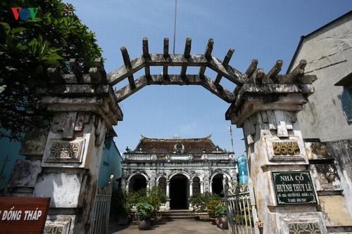 Menguak tabir situs peninggalan sejarah nasional: Rumah kuno Huynh Thuy Le - ảnh 1