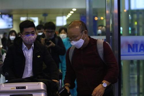 Huấn luyện viên Park Hang-seo và vợ đã quay lại Việt Nam - ảnh 4