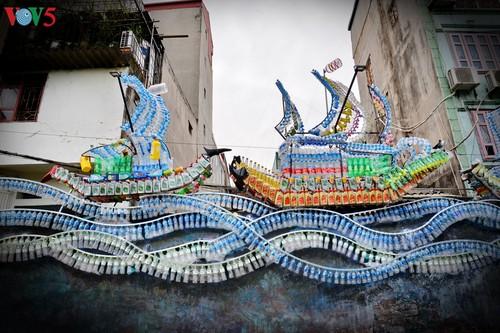 Thông điệp bảo vệ môi trường từ con đường nghệ thuật ven sông Hồng - ảnh 6