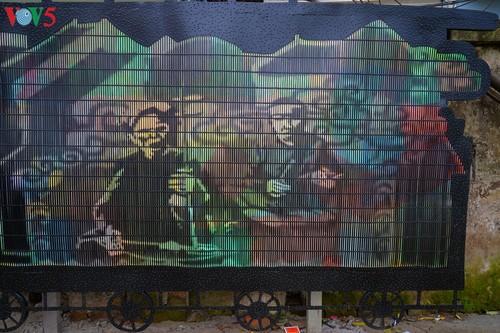 Thông điệp bảo vệ môi trường từ con đường nghệ thuật ven sông Hồng - ảnh 9