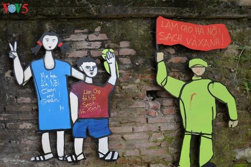Thông điệp bảo vệ môi trường từ con đường nghệ thuật ven sông Hồng - ảnh 15