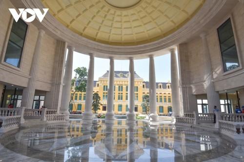 Trụ sở mới uy nghi của cơ quan xét xử cao nhất nước CHXHCN Việt Nam - ảnh 13