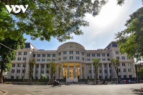 Trụ sở mới uy nghi của cơ quan xét xử cao nhất nước CHXHCN Việt Nam - ảnh 1