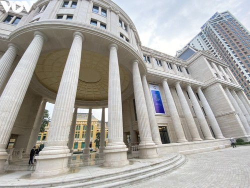 Trụ sở mới uy nghi của cơ quan xét xử cao nhất nước CHXHCN Việt Nam - ảnh 3