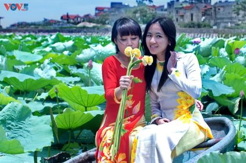 Áo dài Việt Nam- Giá trị được khẳng định và phát huy - ảnh 4