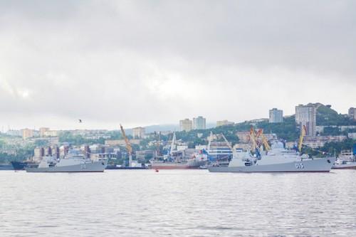 Biên đội tàu hộ vệ tên lửa của Hải quân Việt Nam tham dự Lễ duyệt binh tại Liên bang Nga - ảnh 3