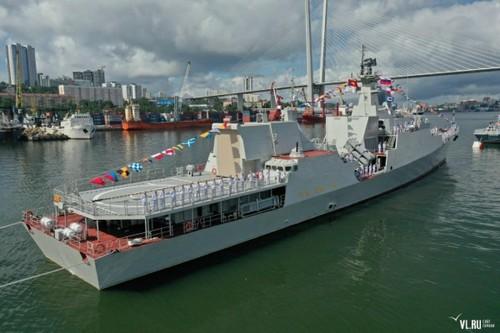 Biên đội tàu hộ vệ tên lửa của Hải quân Việt Nam tham dự Lễ duyệt binh tại Liên bang Nga - ảnh 4