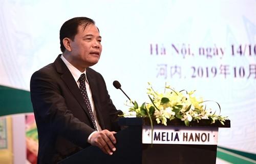 Agriculture : entretien entre Nguyên Xuân Cuong et Han Changfu - ảnh 1