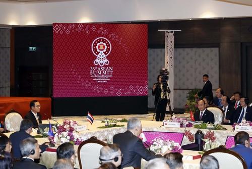 La mer Orientale au cœur du 35e Sommet de l'ASEAN - ảnh 1