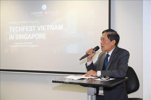 Vietnam-Singapour: Promouvoir la connexion technologique et les start-up - ảnh 1