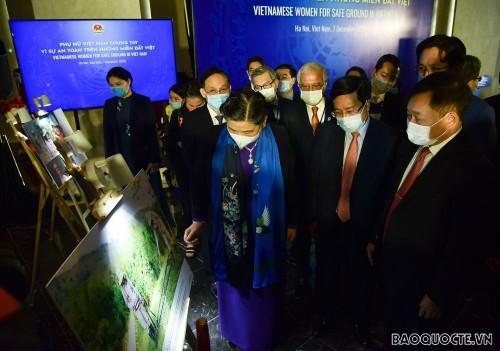 «Les femmes agissent pour la sécurité de la terre vietnamienne» - ảnh 1