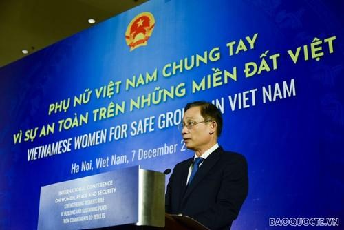 «Les femmes agissent pour la sécurité de la terre vietnamienne» - ảnh 2